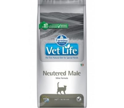 Купить корм Farmina VetLife Neutered Male - для кастрированных котов (2кг)