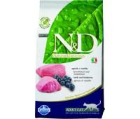 Farmina N&D Lamb&Blueberry беззерновой 1.5кг с ягненком и черникой для кошек