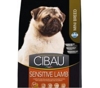 Купить корм Farmina CIBAU Sensitive - с ягненком для собак мелких пород (800г)
