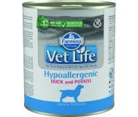 Farmina VetLife Hypoallergenic с уткой 300г