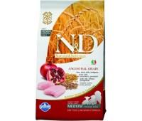 Farmina N&D LowGrain ADULT MINI с курицей 2,5кг