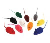 Каскад Мышь пищащая велюр 6,5см