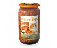 Puffins для кошек Мясное ассорти