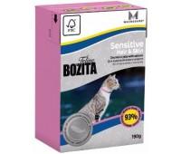 Bozita Funktion Hair & Skin 190г кусочки лосося в желе для красивой кожи и шерсти у кошек