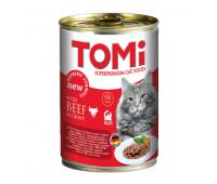 Tomi для взрослых кошек 400г Говядина в соусе