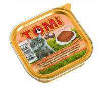 Tomi для взрослых кошек с Индейкой 100г