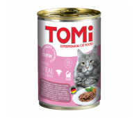 Tomi для взрослых кошек 400г Телятина