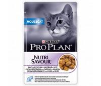 PRO PLAN Hausecat 85г с индейкой в желе для кошек,живущих в помещении