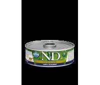Farmina N&D PRIME Lamb&Blueberry Консервы 85г с ягненком и черникой для кошек
