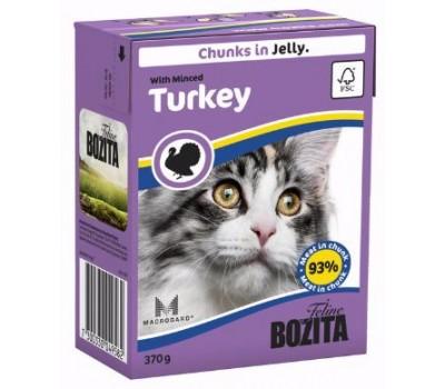 Купить Bozita консервы 370г кусочки индейки для кошек