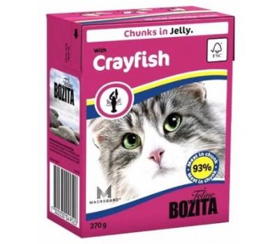 Купить Bozita консервы 370г кусочки лангуста в желе для кошек