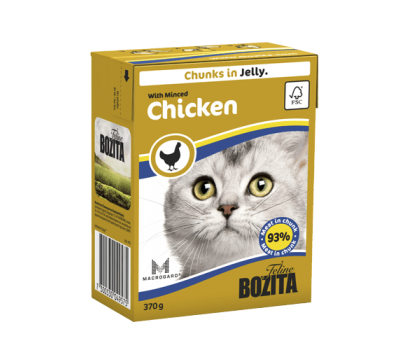 Купить Bozita корм для кошек Бозита с рубленой курицей