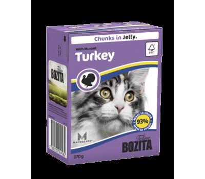 Купить Bozita корм для кошек Бозита с рубленой индейкой