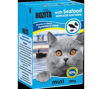 Купить Bozita корм для кошек Бозита морской коктейль