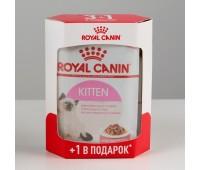 Royal Canin Instinctive kitten в желе 85г комплект 3+1