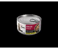 1stChoice Sterilized консервы 85г с курицей и сардиной для кошек