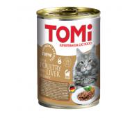 Tomi для взрослых кошек 400г Утка и Печень в соусе