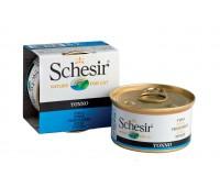 Schesir консервы для кошек 85г Тунец
