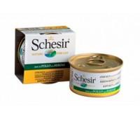 Schesir консервы для кошек 85г Курица&Сурими