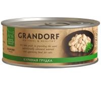 GRANDORF Консервы 70г с куриной грудкой для кошек