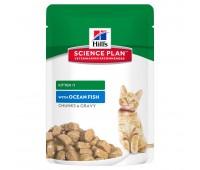 HILL'S Science Plan с рыбой для котят пауч 85г