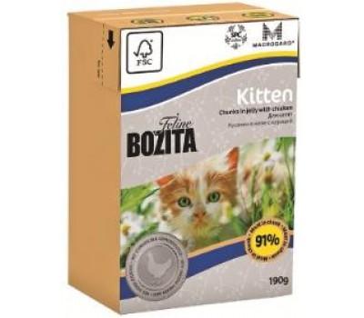 Купить Bozita Funktion 190г кусочки курицы в желе для котят