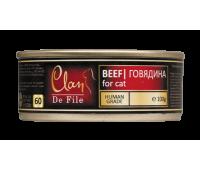 Clan De File консерва для кошек 100г Говядина