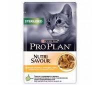 PRO PLAN Sterilized 85г с курицей в соусе для стерилизованных,кастрированных кошек