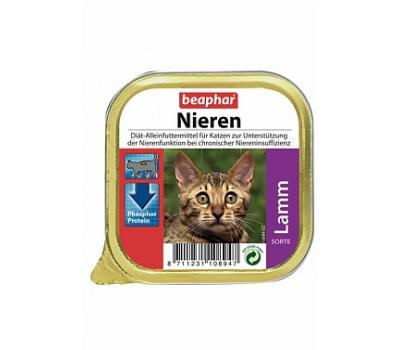 Купить Beaphar Neiren Lamm 100г паштет из ягненка при почечной недостаточности у кошек