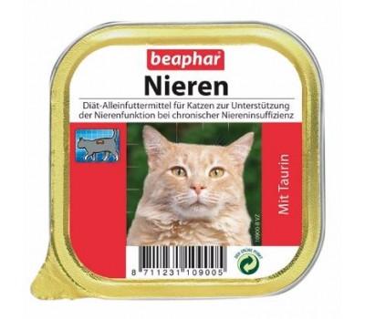 Купить Beaphar Neiren Taurin 100г паштет из курицы с таурином при почечной недостаточности у кошек