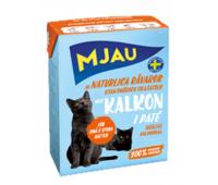 MJAU консервы 380г паштет из индейки для кошек