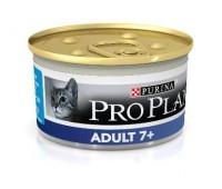 PRO PLAN Adult 7+ 85г с тунцом для кошек