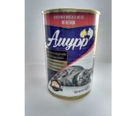 АМУРР консервы для кошек с ягненком в желе 415г