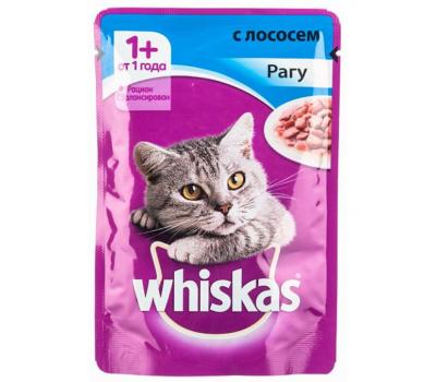 Купить Whiskas для взрослых кошек рагу с говядиной и ягнёнком