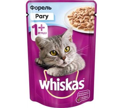 Купить Whiskas для котят рагу с курицей