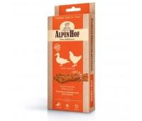 AlpenHof Колбаски баварские утка+курица для кошек 3 шт