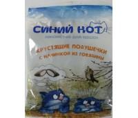 TiTBiT Синий кот Хрустящие подушечки для кошек с начинкой говядина 30г