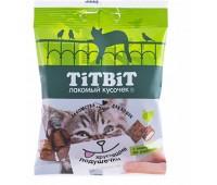 TiTBiT Хрустящие подушечки для кошек с паштетом из индейки 30г