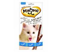 Мнямс - лакомые палочки для кошек форель, лосось