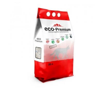 Купить Наполнитель ECO Premium BLUE комкующийся