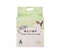 HAKASE AREKKUSU Наполнитель Тофу пресованные соевые гранулы Зелёный Чай 6л