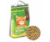 Сибирская Кошка КОТЯТА Лесной 5л гранулы