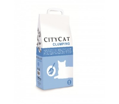Купить CITYCAT комкующийся 5л
