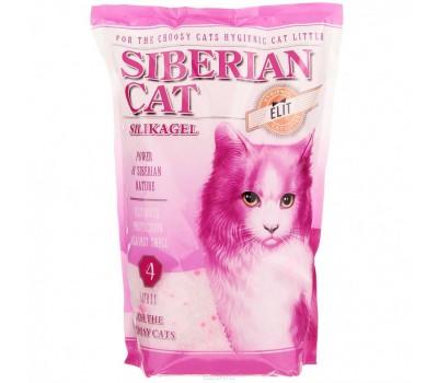 Купить Сибирская Кошка Элита силикагелевый наполнитель для привередливых кошек