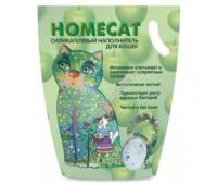 HOMECAT наполнитель силикагель 3,8л с ароматом яблока
