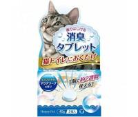 Уничтожитель запаха кошачьего туалета с ароматом детского мыла 2таб 45г
