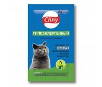 Cliny Гипоаллергенный 10мл шампунь для кошек