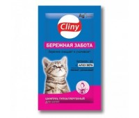 Cliny Бережная Забота 10мл шампунь для котят