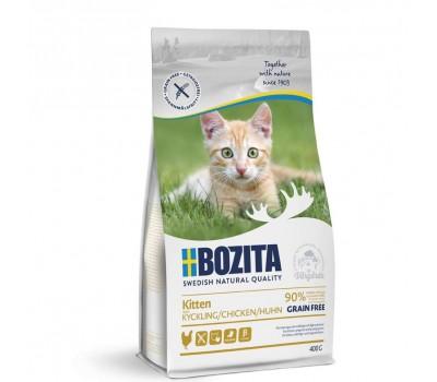 Купить BOZITA GF KITTEN Chicken с курицей беззерновой для котят 400г