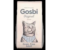 GOSBI ORIGINAL GRAIN FREE ADULT 1кг беззерновой для кошек